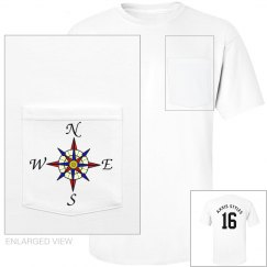 Compass Rose Pocket Tee