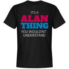 Alan thing