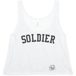 'Soldier' top Cheryl