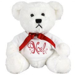 Noel Plush Holiday Bear