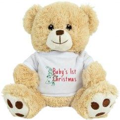 Baby 1st Christmas Bear