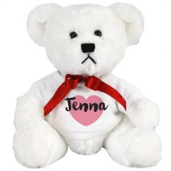 Name & Heart Bear