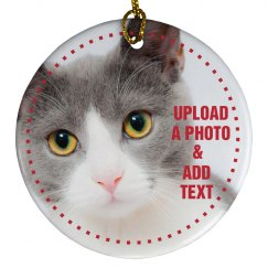 Custom Cat Picture Gift