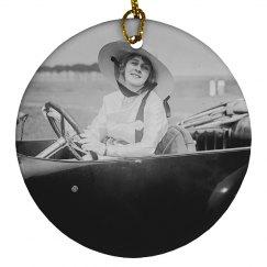 Custom Ornament Gift For Grandma