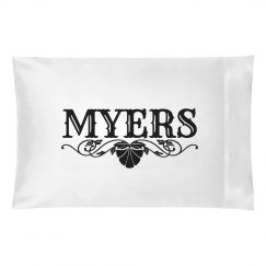 MYERS. Pillow case