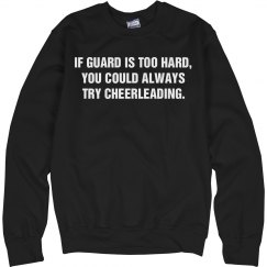 If Color Guard Is Too Hard Cheer