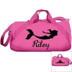 Riley's swimming bag