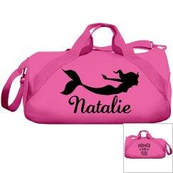 Natalie's swimming bag