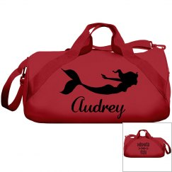 Audrey's swimming bag