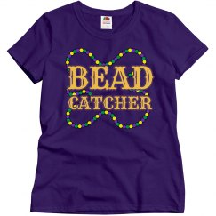 Bead Catcher Mardi Gras Tee