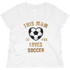 Bling Custom Soccer Mom