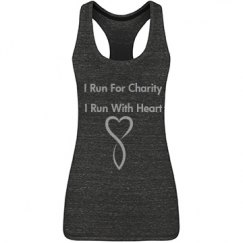 I Run For Charity  I Run With He