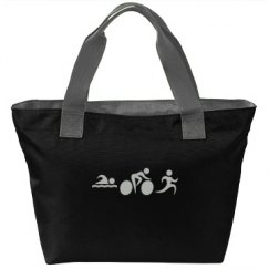 Black lunch tote (TRI pic is glittery)