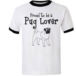 Proud pug lover