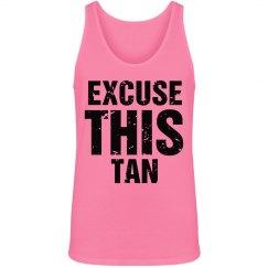 Excuse My Tan Distressed
