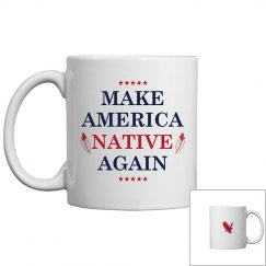 Make America Native Again Feathers
