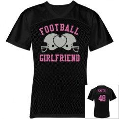 Football Girlfriend Jerse