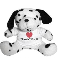 Heart pants for U