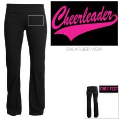 Cheerleader Custom Yoga Pants