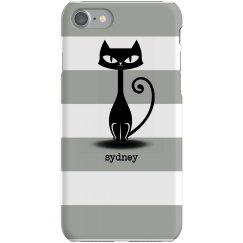Cat Stripe iPhone Case