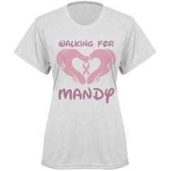 Walking for Mandy
