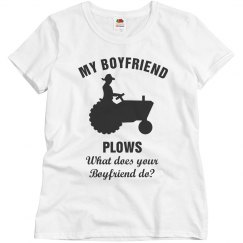 My boyfriend plows
