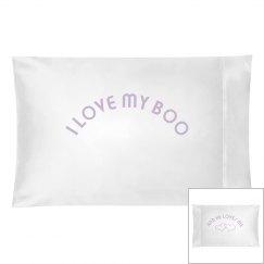 I love my boo.he. pillow