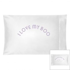 I love my boo.he. pillow