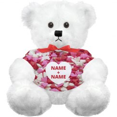 Custom Valentine's Day Love Bear