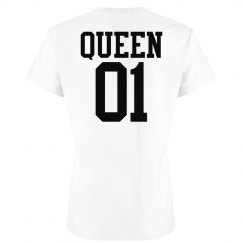 Matching King Queen Couple Jersey