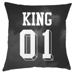 King Queen Storm Clouds Home Decor