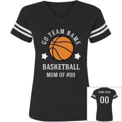 Basketball Custom Rhinestone Mom