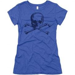 Skull Bones Rhinestone