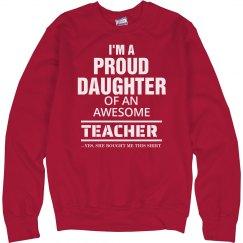 Proud Daughter Sweatshirt