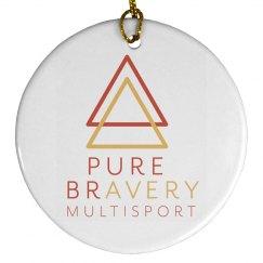 PB Round Ornament