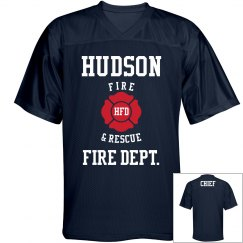 Fire Chief Jersey w/back