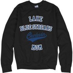 Blue Leopard Cheer Sweat