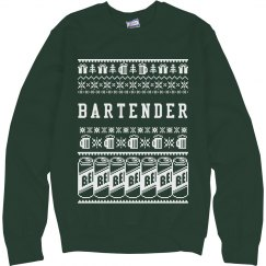 Ugly Sweater For Bartenders