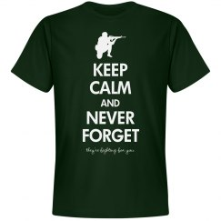 Keep calm and never forget