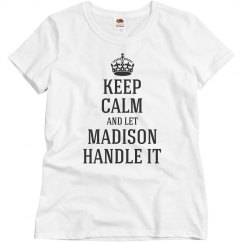 Let Madison handle it