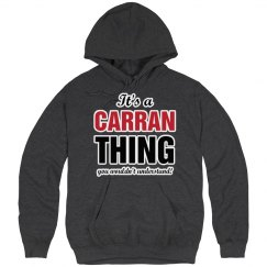 It's a Carran thing