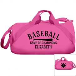 Elizabeth, Baseball bag