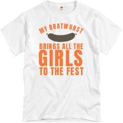 My Oktoberfest Bratwurst
