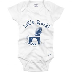 Let's Rock Baby Onesie