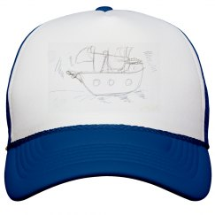 Boat on hat