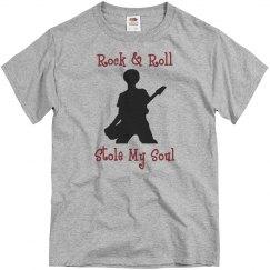 Rock & roll stole my soul