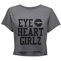 Eye Heart Girlz Crop Shirt
