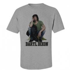 Men's cut Daryl Dixon tee
