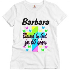 PERSONALIZED 60TH BIRTHDAY SHIRT