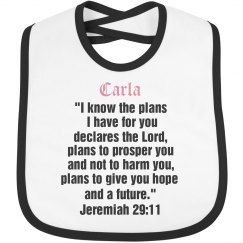 Carla Personal Scripture verse